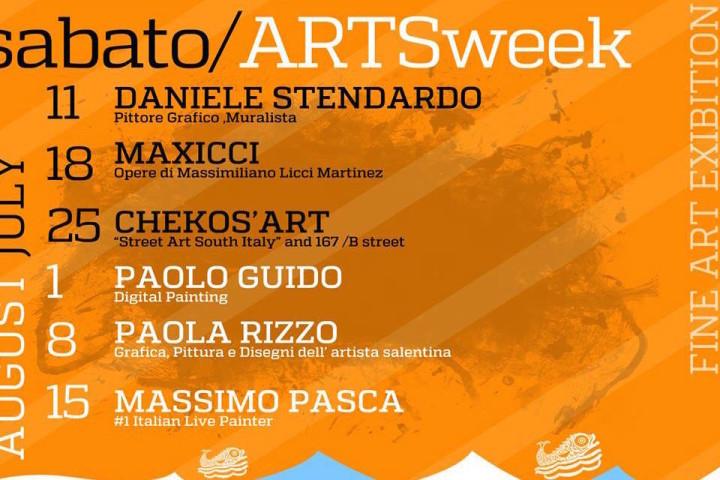 SABATO – ARTSweek Fine Art Exhibition al Mar De Plata