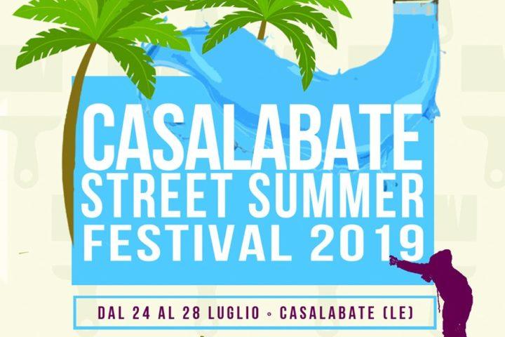 Casalabate Street Summer Festival 2019   24 – 28 LUGLIO 2019